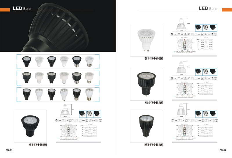 LED MR16 & GU10 & E27